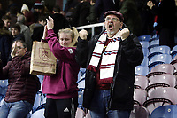 Burnley fans show their support at the final whistle despite a bruising 1 - 5 home defeat for their side<br /> <br /> Photographer Rich Linley/CameraSport<br /> <br /> The Premier League - Burnley v Everton - Wednesday 26th December 2018 - Turf Moor - Burnley<br /> <br /> World Copyright &copy; 2018 CameraSport. All rights reserved. 43 Linden Ave. Countesthorpe. Leicester. England. LE8 5PG - Tel: +44 (0) 116 277 4147 - admin@camerasport.com - www.camerasport.com
