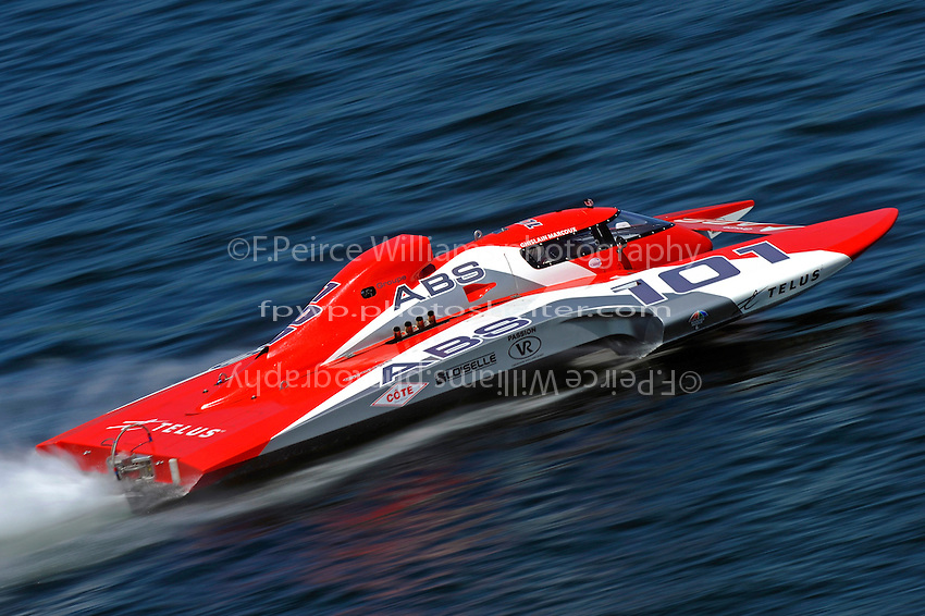 "Ghislain Marcoux, GP-101 ""Groupe ABS"" (Grand Prix Hydroplane(s)"