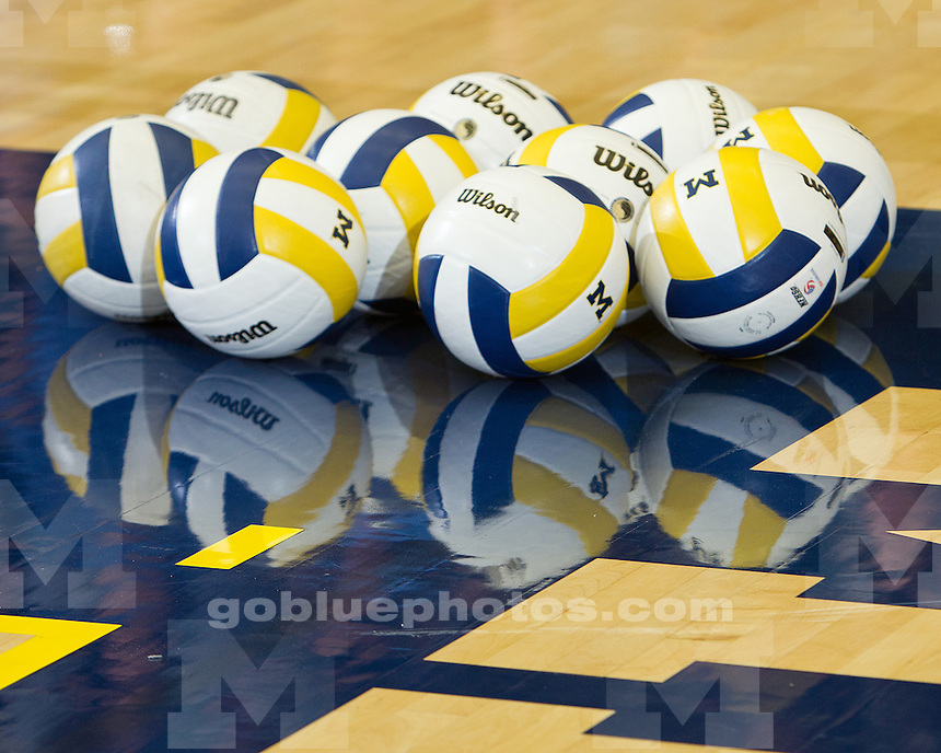 The University of Michigan volleyball team defeats Texas A&M, 3-0, to win the Michigan/adidas Invitational at Cliff Keen Arena in Ann Arbor, Mich., on Saturday, September 17, 2011.