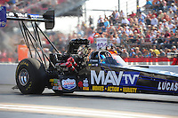 27-29 April, 2012, Houston, Texas USA, Brandon Bernstein, MAV TV, Lucas Oil, top fuel dragster @2012, Mark J. Rebilas