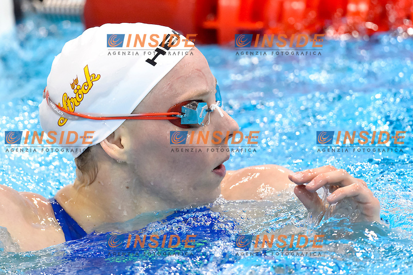 Birgit KOSCHISCHEK AUT <br /> 100m Freestyle Women preliminary <br /> London, Queen Elizabeth II Olympic Park Pool <br /> LEN 2016 European Aquatics Elite Championships <br /> Swimming<br /> Day 09 17-05-2016<br /> Photo Andrea Staccioli/Deepbluemedia/Insidefoto