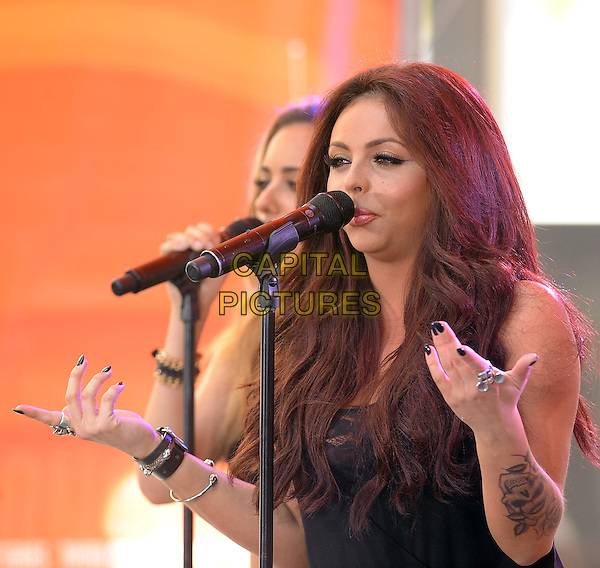 New York,NY-June 17: Jesy Nelson at the  Today Show in New York City on June 17, 2014.  <br /> CAP/RTNSTV<br /> &copy;RTNSTV/MPI/Capital Pictures