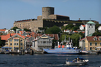 Carlsten Fort  which sits on a small island called Marstrand.