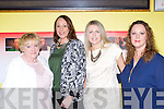 Marie Long, Peig O'Sullivan, Rachel Warren and Elaine Doyle Killarney at the premiere of Bouncers in Killarney cinema last Thursday night