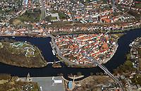 Hansestadt Havelberg an der Havel: DEUTSCHLAND, SACHSEN-ANHALT, (GERMANY, SAXONY-ANHALT), 22.03.2015:  Hansestadt Havelberg an der Havel