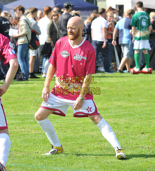 Jake Wood attends the Soccer Six Fest 2015, Mile End Stadium, Burdett Road, London, England, UK, on Sunday 06 September 2015. <br /> CAP/CAN<br /> &copy;Can Nguyen/Capital Pictures