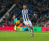 2nd December 2017, The Hawthorns, West Bromwich, England; EPL Premier League football, West Bromwich Albion versus Crystal Palace; Kieran Gibbs of West Bromwich Albion collects a loose ball before attacking