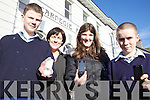 VOTE FOR US: Listowel Youth Club members who are seeking public votes in the AIB Better Ireland competition, l-r: James Relihan, Maire McDermott, Julieanne Relihan, Kevin Brouder.