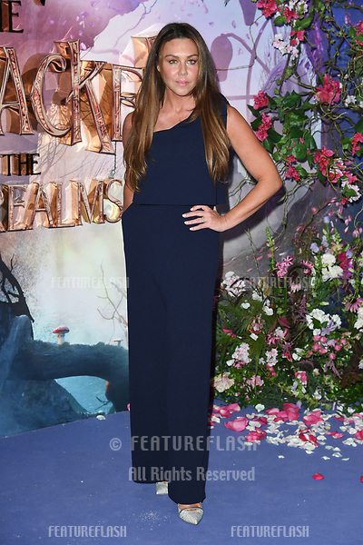 "LONDON, UK. November 01, 2018: Michelle Heaton at the European premiere of ""The Nutcracker and the Four Realms"" at the Vue Westfield, White City, London.<br /> Picture: Steve Vas/Featureflash"