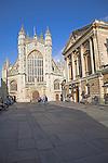 Bath Abbey, Abbey churchyard, Bath, England