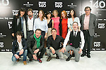 "Crew of the movie attend the Presentation of ""Happy 140"" (Felices 140) Movie at Eurobuilding Hotel, Madrid,  Spain. April 07, 2015.(ALTERPHOTOS/)Carlos Dafonte)"