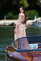 VENICE, ITALY - AUGUST 30: Izabel Goulart arrives at Darsena Excelsior during 74th Venice Film Festival at Excelsior Hotel on August 30, 2017 in Venice, Italy. (Mark Cape/insidefoto)
