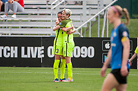 Kansas City, MO - Saturday June 17, 2017: Lauren Barnes, Megan Rapinoe during a regular season National Women's Soccer League (NWSL) match between FC Kansas City and the Seattle Reign FC at Children's Mercy Victory Field.