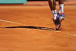 Novak Djokovic loses in Monte Carlo final on April 22, 2012.