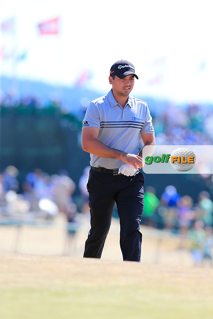 Jason DAY (AUS) walks onto the 10th tee during Saturday's Round 3 of the 2015 U.S. Open 115th National Championship held at Chambers Bay, Seattle, Washington, USA. 6/21/2015.<br /> Picture: Golffile | Eoin Clarke<br /> <br /> <br /> <br /> <br /> All photo usage must carry mandatory copyright credit (&copy; Golffile | Eoin Clarke)