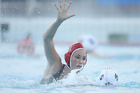 STANFORD, CA - FEBRUARY 7:  Driver Kelly Eaton #5 of the Stanford Cardinal during Stanford's 11-2 win against the Indiana Hoosiers in the 2009 Stanford Women's Water Polo Invitational on February 7, 2009 at Avery Aquatic Center in Stanford, California.