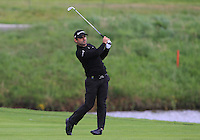 Fabrizio Zanotti (PAR) on the 1st fairway during Round 2 of the 100th Open de France, played at Le Golf National, Guyancourt, Paris, France. 01/07/2016. <br /> Picture: Thos Caffrey | Golffile<br /> <br /> All photos usage must carry mandatory copyright credit   (&copy; Golffile | Thos Caffrey)