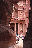 First View of the Treasury, Petra, Jordan