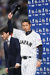 Hiroki Kokubo (JPN), <br /> MARCH 14, 2017 - WBC : <br /> 2017 World Baseball Classic <br /> Second Round Pool E Game <br /> between Japan 8-5 Cuba <br /> at Tokyo Dome in Tokyo, Japan. <br /> (Photo by YUTAKA/AFLO SPORT)