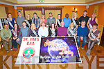 DANCING: In Keane's Bar/Restauran & Accomadation, Curraheen, Tralee St Pats GAA announced details of their forth coming Strickly Com Dancing in the Ballyroe hEights Hotel, Traleeon the 6th December 2013, Dancers who will be taken on the challenge with their patrners Front l-r: Marcallo Chevez, Ann O'Dwyer, Liam O'Sullivan,Cathy Sheehan, Kieran O'Shea and Denise Almond, Richard and Noreen Walsh, Dan O'Sullivan and Breda Conway.Back l-r: Edel O'Sullivan, Liam Poff, Catherine O'Shea, Tommy O'Connor, Mary Maunsell, Jim Goggin, Aíne Collins, Dipo Dairo, Carl O'Connor, Sean Curtin and Mary Kelliher.
