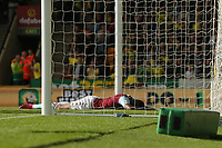 Wesley of Aston Villa in action after the penalty and rebound save during Norwich City vs Aston Villa, Premier League Football at Carrow Road on 5th October 2019