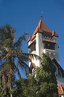 Afrique/Afrique de l'Est/Tanzanie/Dar es-Salaam: Eglise lutherienne batie en style bavarois