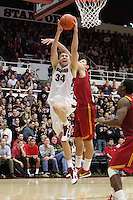 STANFORD, CA - JANUARY 6:  Andrew Zimmerman of the Stanford Cardinal during Stanford's 54-53 win over the USC Trojans on January 6, 2009 at Maples Pavilion in Stanford, California.