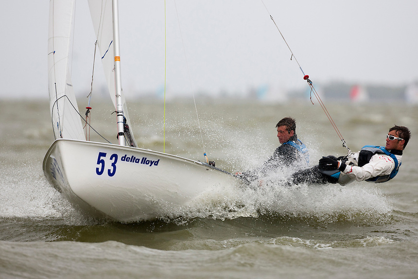 470 men, Day 4, May 27th, Delta Lloyd Regatta in Medemblik, The Netherlands (26/30 May 2011).