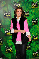 LONDON, ENGLAND - JANUARY 10: Natasha Kaplinsky attending 'Cirque du Soleil - OVO' at the Royal Albert Hall on January 10, 2018 in London, England.<br /> CAP/MAR<br /> &copy;MAR/Capital Pictures