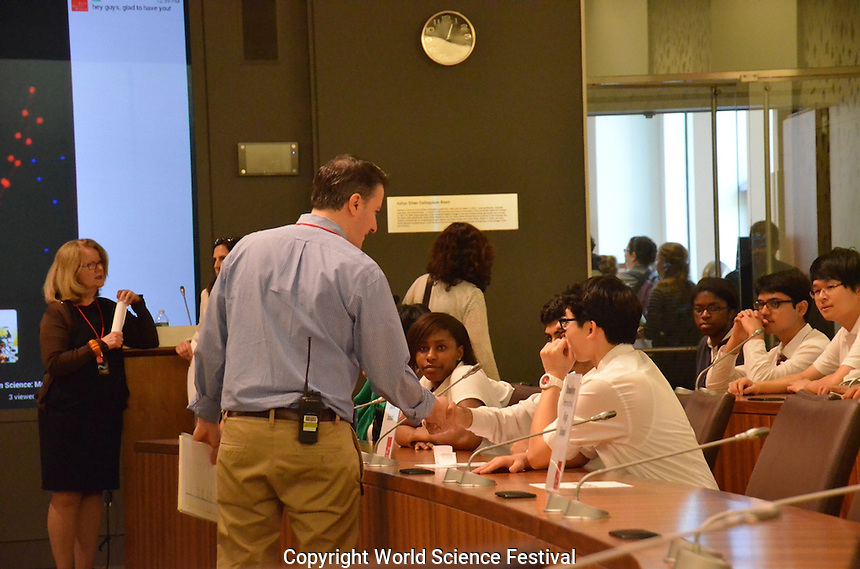 Photos from the World Science Festival (WSF), 2014