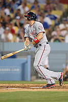 05/13/13 Los Angeles, CA: Washington Nationals third baseman Ryan Zimmerman #11 in a MLB game played between the Los Angeles Dodgers and the Washington Nationals at Dodger Stadium. The Nationals defeated the Dodgers 6-2