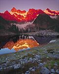 Mount Shuksan and Lake Ann
