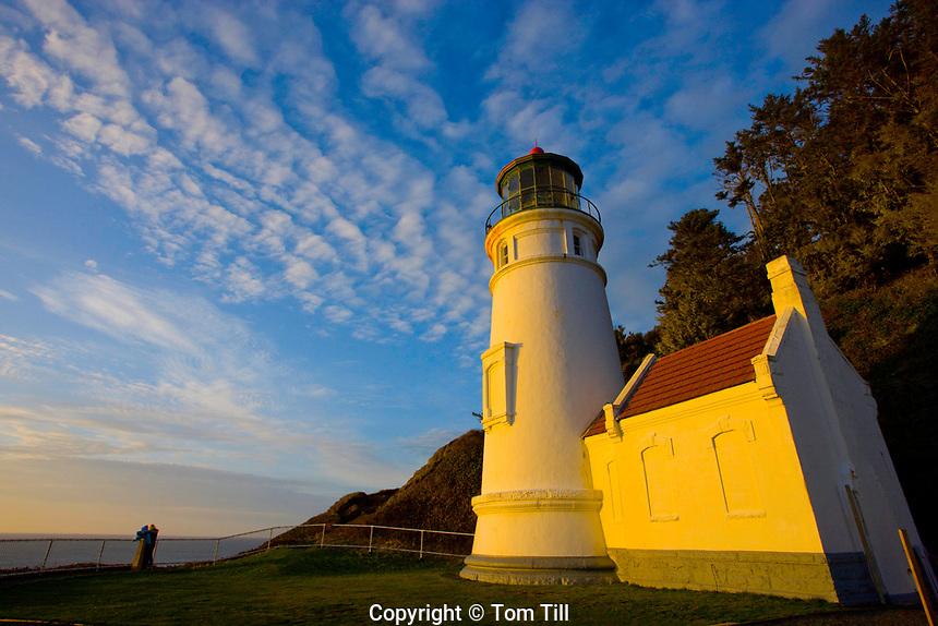 Heceta Head Lighthouse, Heceta Head, Pacific Ocean, Oregon