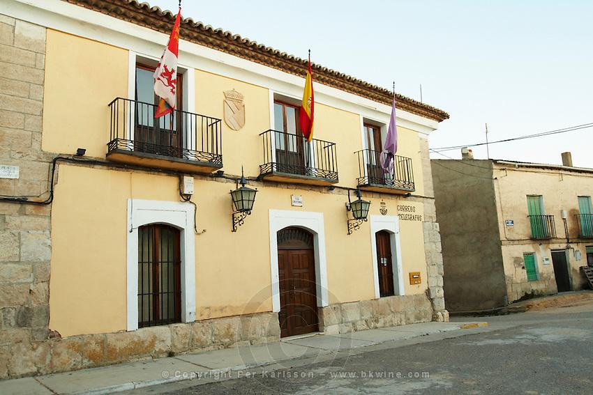 town hall , Valoria la Buena spain castile and leon