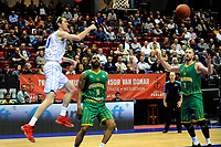 GRONINGEN - Basketbal , Donar - Petrolina AEK, Europe Cup, seizoen 2018-2019, 30-01-2019,  Donar speler Grant Sitton