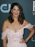 SANTA MONICA, CA - JANUARY 13: D'Arcy Carden attends the 24th annual Critics' Choice Awards at Barker Hangar on January 12, 2020 in Santa Monica, California. <br /> CAP/MPI/IS/CSH<br /> ©CSHIS/MPI/Capital Pictures