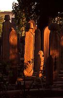 Türkei, Friedhof der Süleymanye Camii (Moschee) in Istanbul, erbaut 1550/1557 von Sinan, Unesco-Weltkulturerbe