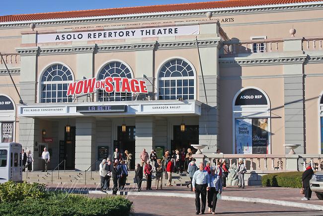 Exterior of Asolo Repertory Theatre Sarasota, FL