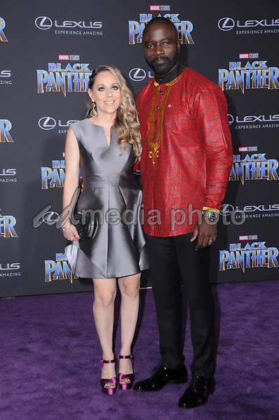 "29 January 2018 - Hollywood, California - Mike Colter. Marvel Studios' ""Black Panther"" World Premiere held at Dolby Theater. Photo Credit: Birdie Thompson/AdMedia"