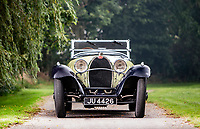 BNPS.co.uk (01202 558833)<br /> Pic: Bonhams/BNPS<br /> <br /> Then £3.8m 1932 Bugatti Type 55. <br /> <br /> A classic car bought by a British motoring enthusiast for £750 before it was nearly written off by a drunk driver has sold for £3.8m.<br />  <br /> The 1932 Bugatti Type 55 roadster belonged to the late Geoffrey St John for over 50 years until his death last February.<br /> <br /> In 1994 he was badly injured when the motor was ploughed into by a drunk driver in France.<br /> <br /> Luckily the car - then valued at about £1m - could be salvaged and repaired.