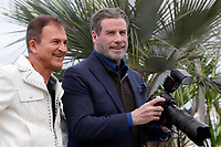 John Travolta at the photocall for 'Rendezvous With John Travolta - Gotti' during the 71st annual Cannes Film Festival at Palais des Festivals on May 15, 2018 in Cannes, France.<br /> CAP/GOL<br /> &copy;GOL/Capital Pictures