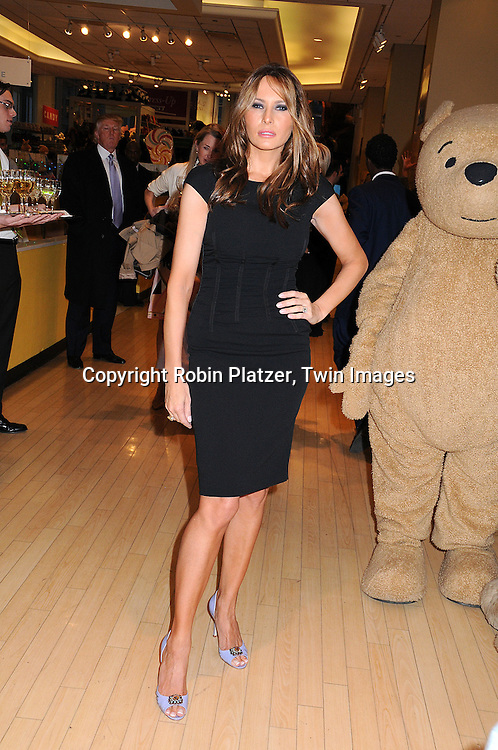 Melania Trump .at The 17th Annual Bunny Hop at FAO Schwarz, hosted by The Society of Memorial Sloan Kettering Cancer Center and .sponsored by Lily Pulitzer on March 11, 2008..Robin Platzer, Twin Images