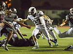 Torrance, CA 09/25/15 - Griffin Martes (El Segundo #27) in action during the El Segundo - Torrance varsity football game at Zamperini Field of Torrance High School