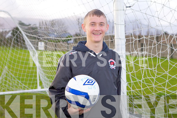 Shane McLoughlin of St Brendan's Park who has been called up for U16 Irish assessment trials.