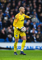 Brighton & Hove Albion's David Button<br /> <br /> Photographer David Horton/CameraSport<br /> <br /> Emirates FA Cup Fourth Round - Brighton and Hove Albion v West Bromwich Albion - Saturday 26th January 2019 - The Amex Stadium - Brighton<br />  <br /> World Copyright © 2019 CameraSport. All rights reserved. 43 Linden Ave. Countesthorpe. Leicester. England. LE8 5PG - Tel: +44 (0) 116 277 4147 - admin@camerasport.com - www.camerasport.com