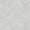 Rohan, a hand-cut stone mosaic, shown in polished Heavenly Cream and Shell.