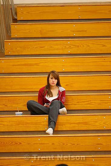 fans. Woods Cross vs. Sky View high school girls basketball, Wednesday, December 16, 2009 at Woods Cross.