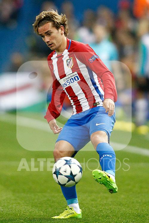 Atletico de Madrid's Antoine Griezmann during Champions League 2016/2017 Round of 16 2nd leg match. March 15,2017. (ALTERPHOTOS/Acero)
