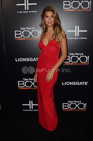HOLLYWOOD, CA - OCTOBER 17: Kara del Toro at Tyler Perry's BOO! Premiere at the Arclight Hollywood in Hollywood, California on October 17, 2016. Credit: David Edwards/MediaPunch