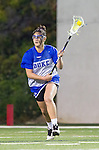 Costa Mesa, CA 02/20/16 - Ellie Majure (Duke #34) during the warmups before the start of the game between Duke and USC.
